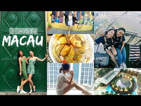 3 Days in Macau | Weekend Wanders