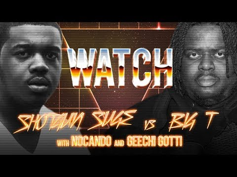 WATCH: SHOTGUN SUGE vs BIG T with NOCANDO and GEECHI GOTTI
