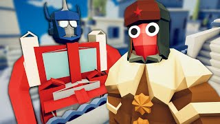 In Soviet Russia, Optimus Primes You - Totally Accurate Battle Simulator (TABS)