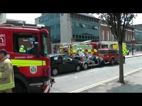 Accident Kingsway Swansea City