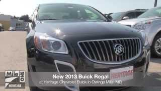 New 2013 Buick Regal Video Tour MD | Buick Dealer Baltimore Owings Mills