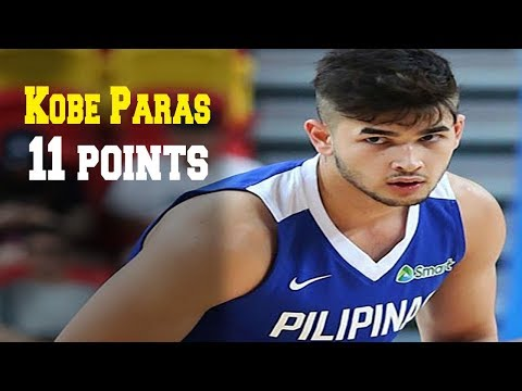 Kobe Paras' Game Highlights vs San Beda (VIDEO) 2018 FilOil Preseason Cup