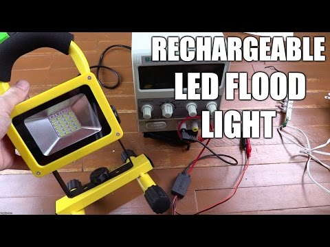 Rechargeable Flood Light W804