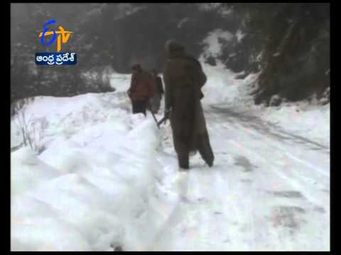 Heavy Snowfall  In Jammu and Kashmir, Avalanche Warning Issued