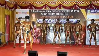MR.IRONMAN -2019 75KG WINNER MR.RAJASEGARN Atom gym karaikal