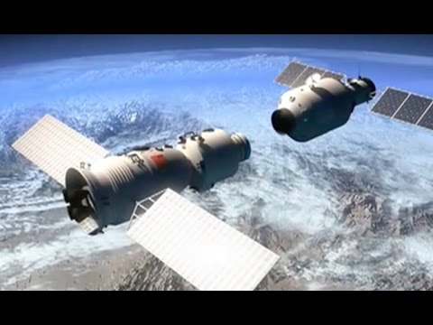China's first cargo spacecraft Tianzhou-1 docks with Tiangon