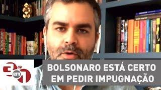 Andreazza: Bolsonaro está certo em pedir impugnação de pesquisa do Datafolha