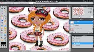 Аватария видео-урок№1: Как сделать аватарку на фоне через фотошоп онлайн.(, 2015-03-11T16:17:44.000Z)