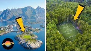 10 boisk do piłki nożnej w niesamowitych miejscach