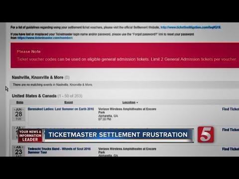 Ticketmaster Settlement Draws Frustration Mp3