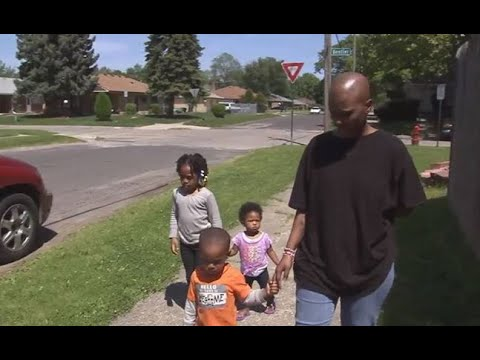 Homeless Detroit Mom of Three Fighting Cancer Gets Home Three Kids Stage Three Cancer and Homeless