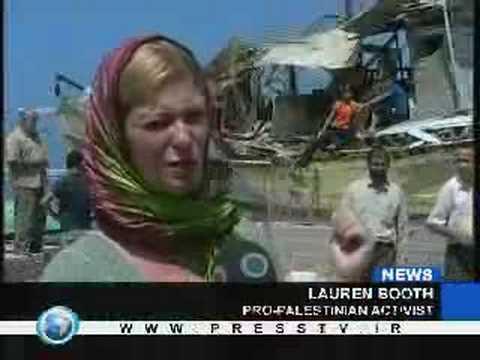 British journalist and peace activist, Lauren Booth stuck in besieged Gaza
