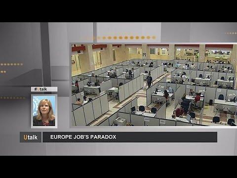 Labour shortage amid high unemployment - Europe's jobs paradox - utalk