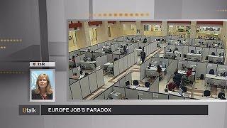 Labour shortage amid high unemployment - Europe