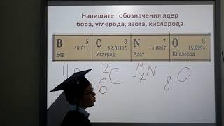 Урок 9  Состав атома и атомного ядра.  Таблица Менделеева. Головин Петр Петрович