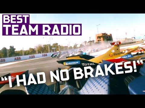 Best Team Radio | 2019 Marrakesh E-Prix | ABB FIA Formula E