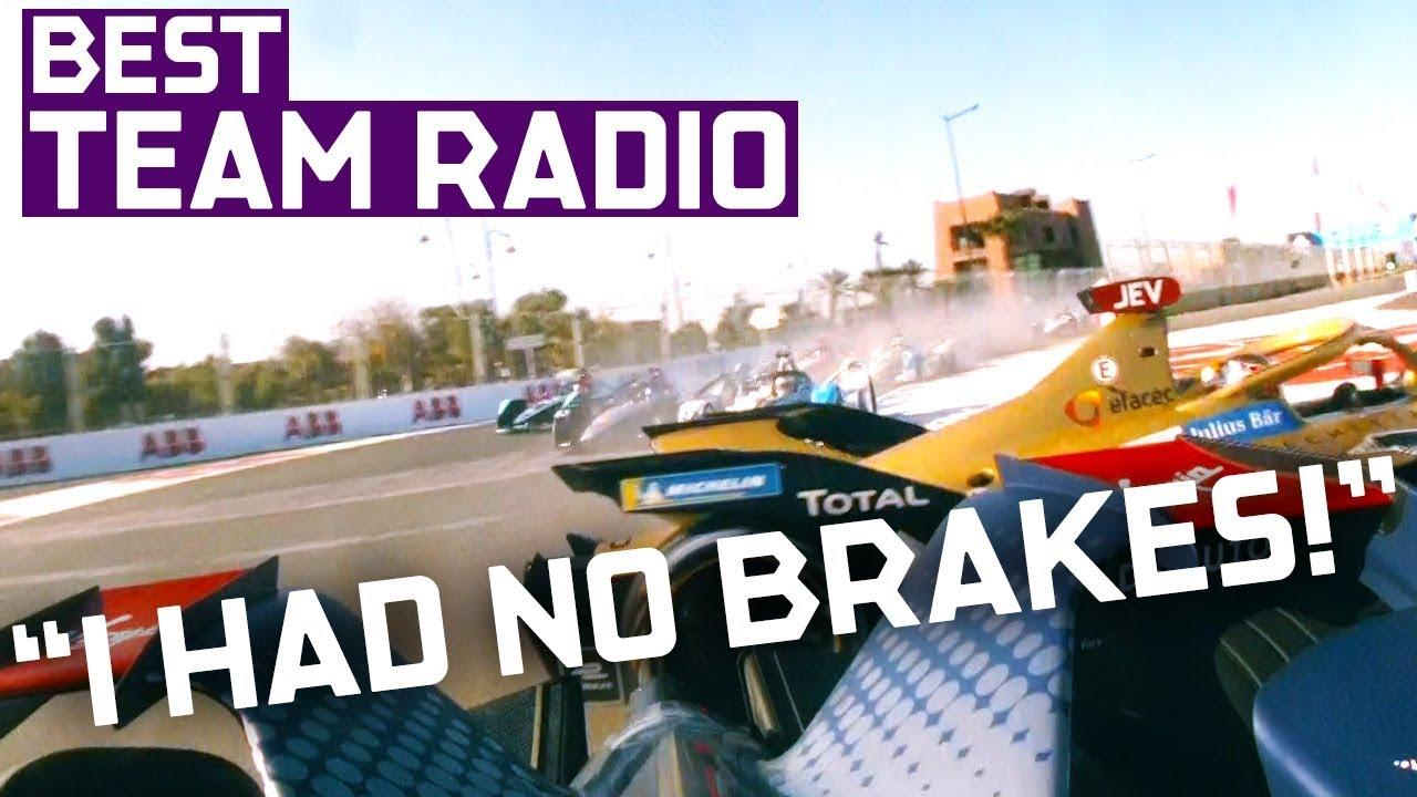 Best Team Radio | 2019 Marrakesh E-Prix | ABB FIA Formula E Championship