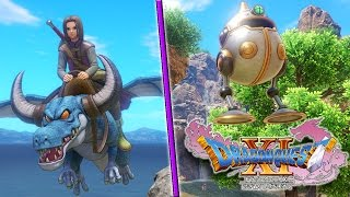 new monster mount system   dragon quest xi in search of departed time   you can ride on dragons