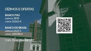 15/08/2020 - Culto de sábado - Reverendo Davi Nogueira Guedes #live