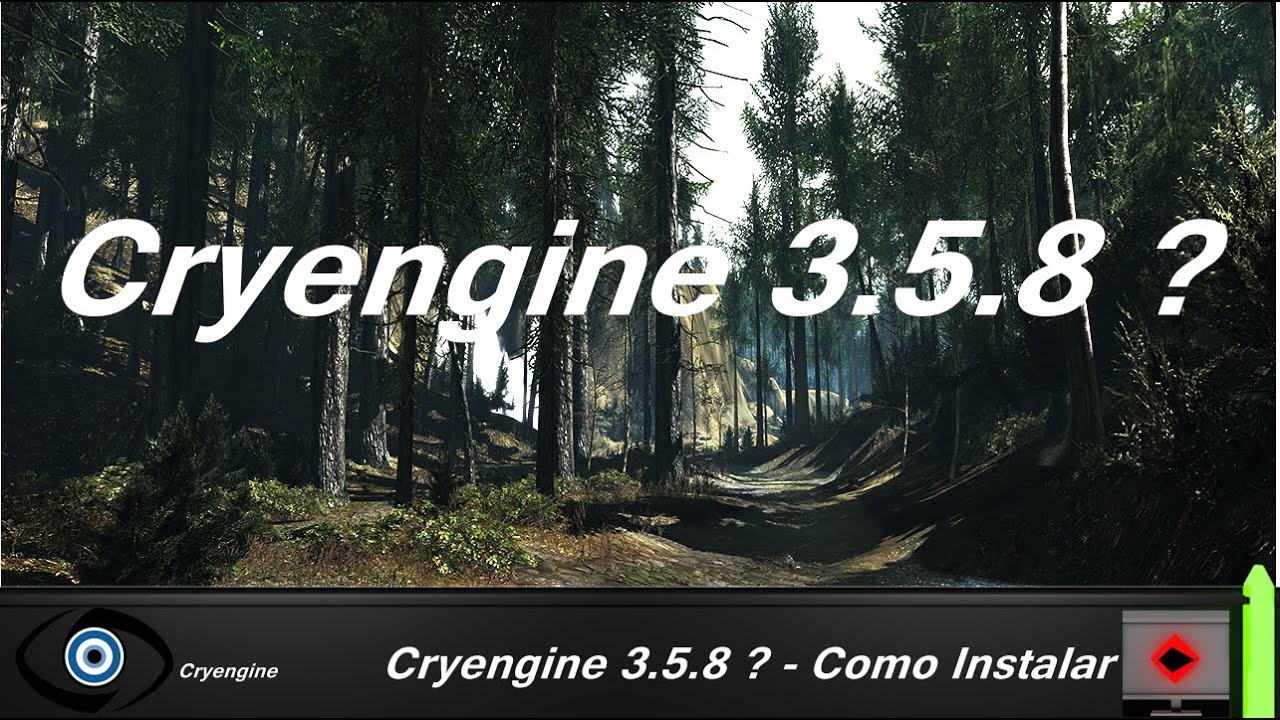 Cryengine 3 5 8 como instalar nex level design for Cryengine 3 architecture