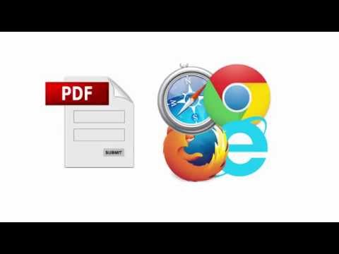 How To Convert PDF Forms To HTML5