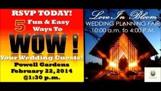 FUN Kansas City Wedding Workshop For Brides & Grooms