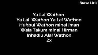 Lagu yalal waton