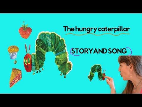 Hungry Caterpillar Song | Hungry Caterpillar Read Aloud | Eric Carle | Tiny Pix