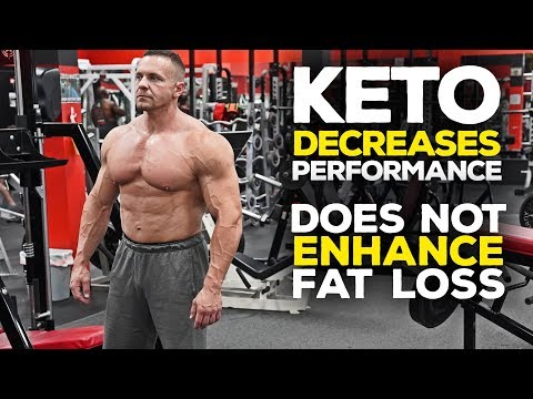 Keto DECREASES Performance and Does NOT Enhance Fat Loss? | Tiger Fitness