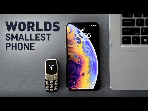 Worlds Smallest Phone - Mini Cellphone - mm