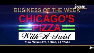 BUSINESS OF THE WEEK || CHICAGO'S PIZZA WITH A TWIST || JUS PUNJABI