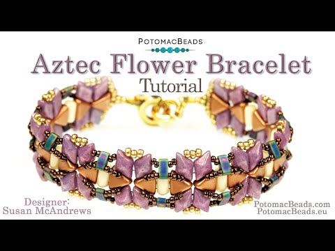 Aztec Flower Bracelet (Tutorial)