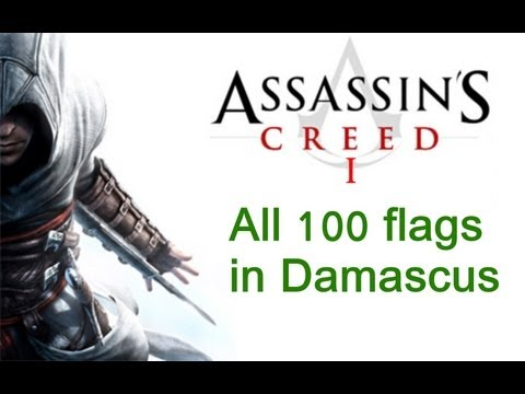 """Assassin's Creed 1"", All 100 flags locations in Damascus"