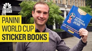 The cost to complete a World Cup sticker book | CNBC Sports