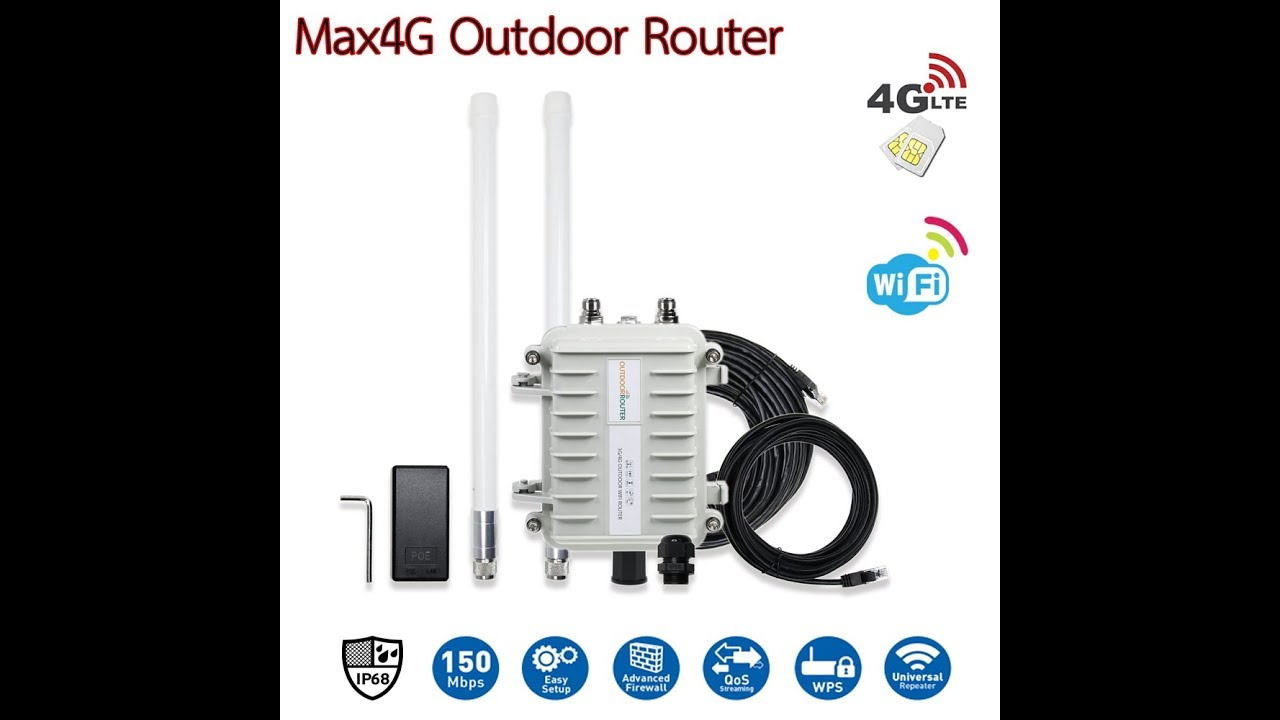 MAX Outdoor 4G CPE Router