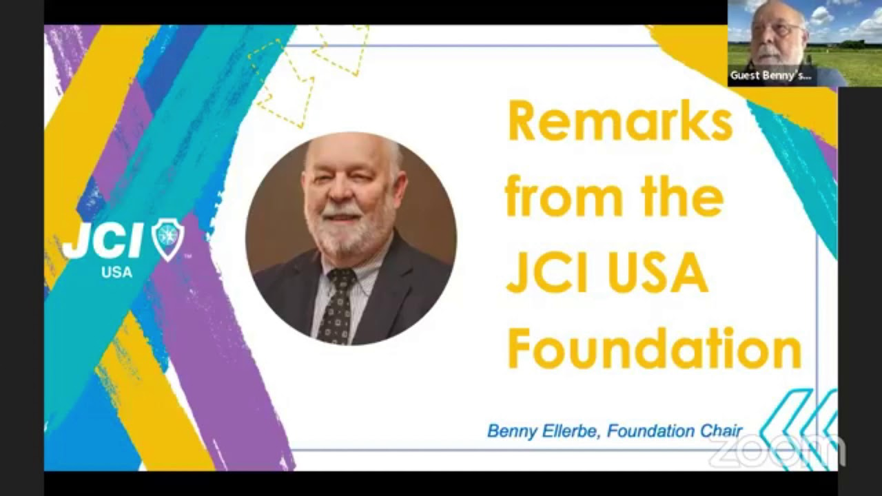Benny Ellerbe   JCI USA Foundation
