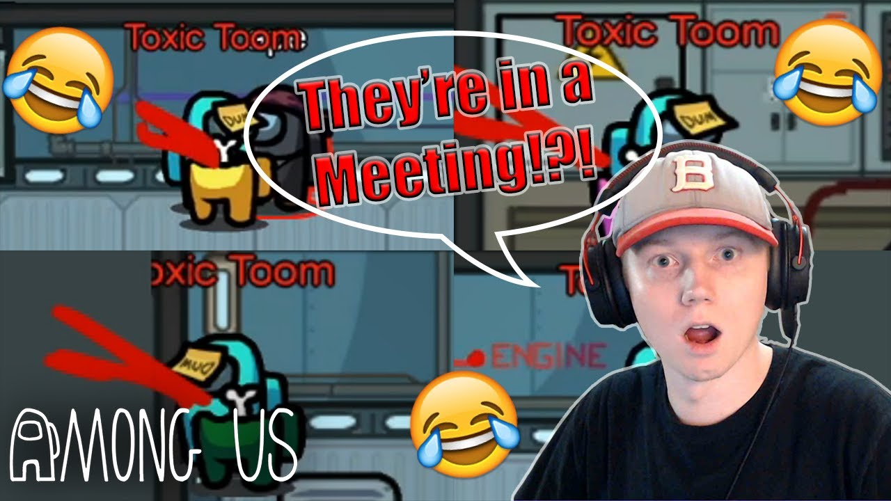 Download I Was GLITCHED Out of a Meeting as Imposter l Among Us Glitch! l Stream Highlights Ep 114