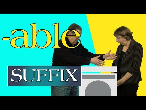 The Suffix -able: Grow Your Vocabulary with Simple English Videos