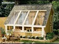 10x12 Greenhouse Shed Plans Blueprints For Assembling A Saltbox Garden Shed