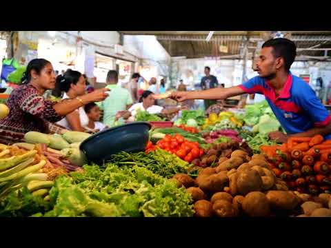 Marché de Negombo - Sri Lanka