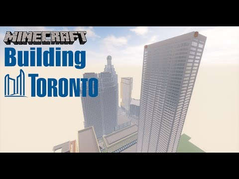 Minecraft Building Toronto #19 Commerce Court West!