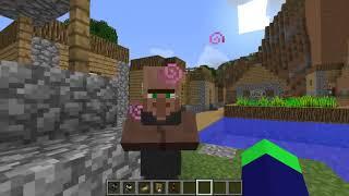 Стройка дома и поселение в деревне! Происшествия в деревне.   Minecraft