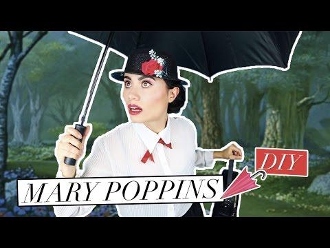 DISFRACES PARA HALLOWEEN: MARY POPPINS (TUTORIAL) - CREATIVOS Y DE ÚLTIMA HORA | Paulettee