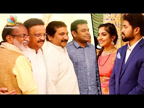 Singer Mano Daughter Sofia Marriage Reception Video | AR Rahman, SP Balasubramaniam, Gangai Amaran