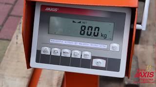 Відео інструкція по підключенню ваги з модулем WiFi до ПК.