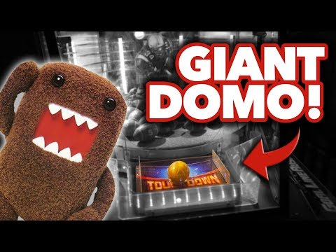 Can we win the GIANT Domo at New York New York in Las Vegas?