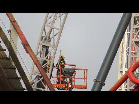 Blackpool Pleasure Beach ICON Construction Update January 2018