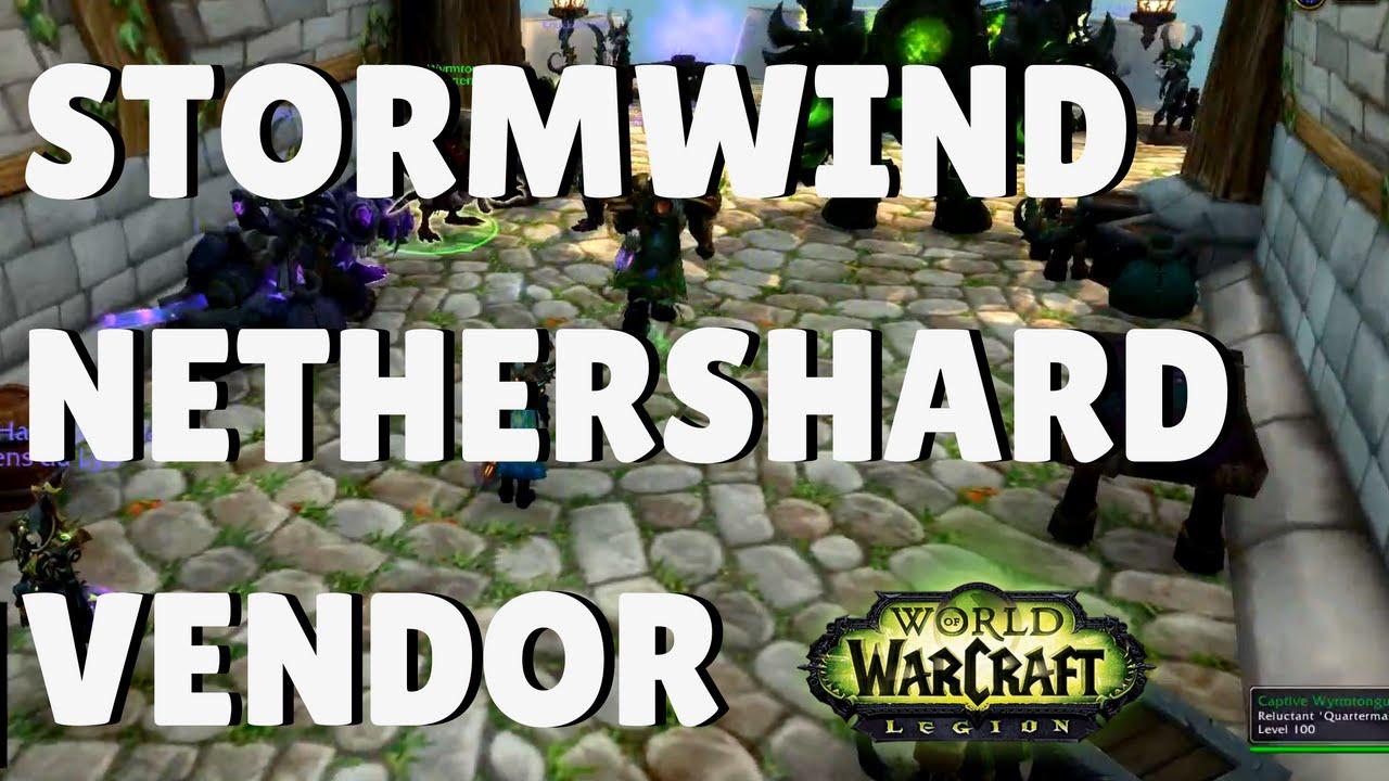Illidari Nethershard Vendor/Quartermaster in Stormwind ...