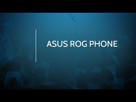 Prise en main de l'Asus ROG Phone : le plein d'options pour les gamers