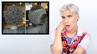 Hairdresser Reacts To Silk Press On 4C Hair